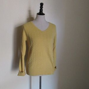 Merona Light Yellow Knit Sweater